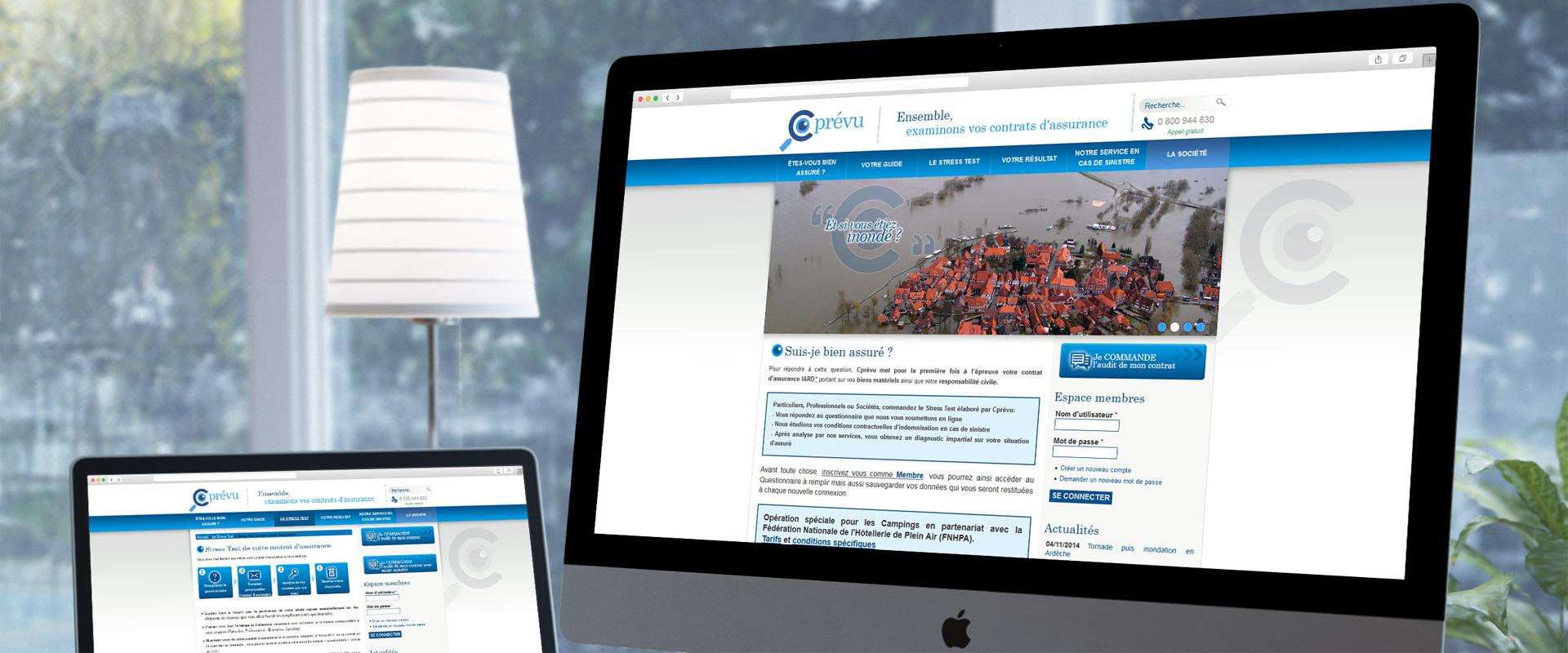 Site web Drupal Cprévu