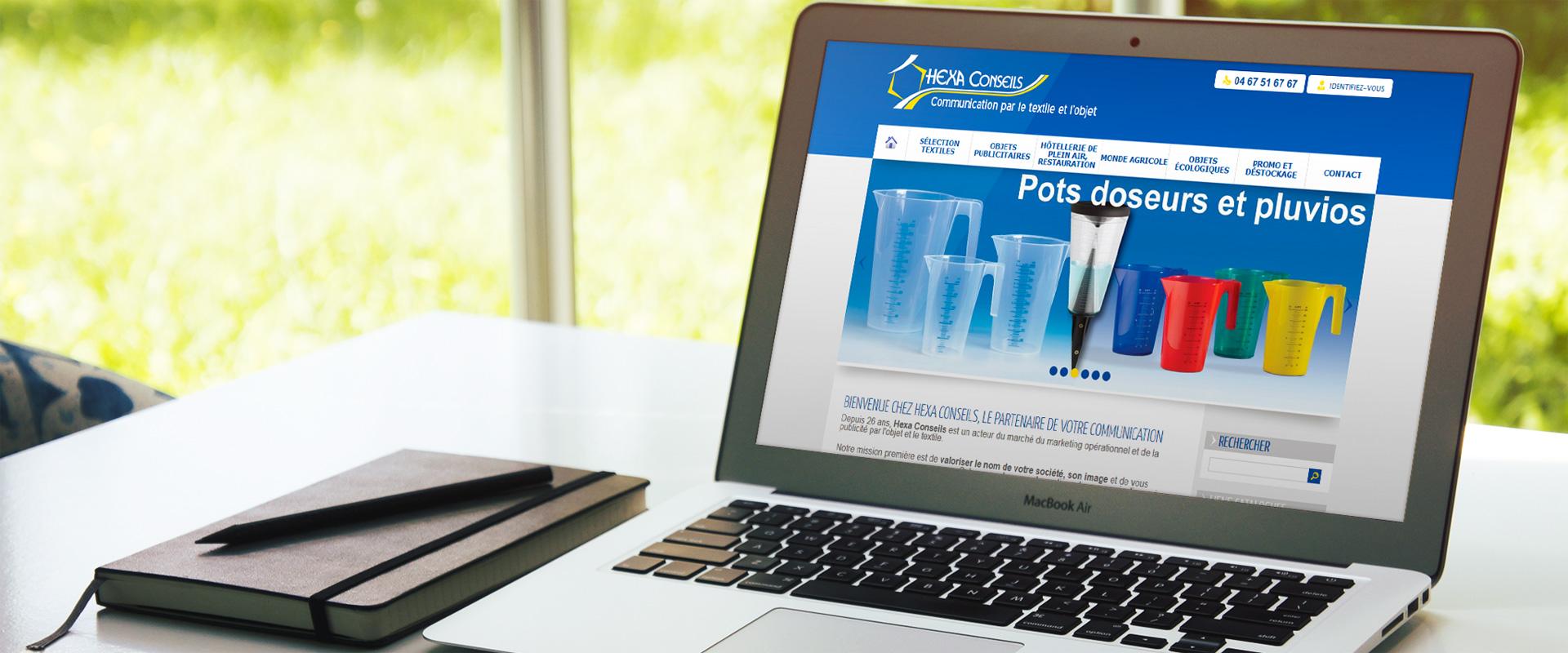 Site ecommerce Prestashop Hexa Conseils